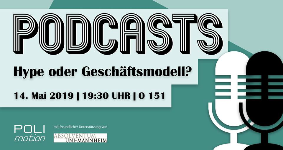 Podiumsdiskussion: Podcasts – Hype oder Geschäftsmodell?